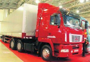 Ремонт грузовиков, прицепов МАЗ