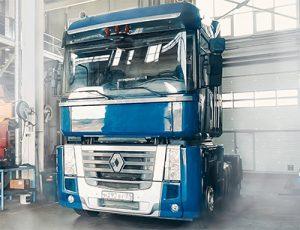 Ремонт грузовых автомобилей, автобусов Renault