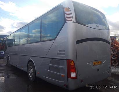 Пример окраски автобуса
