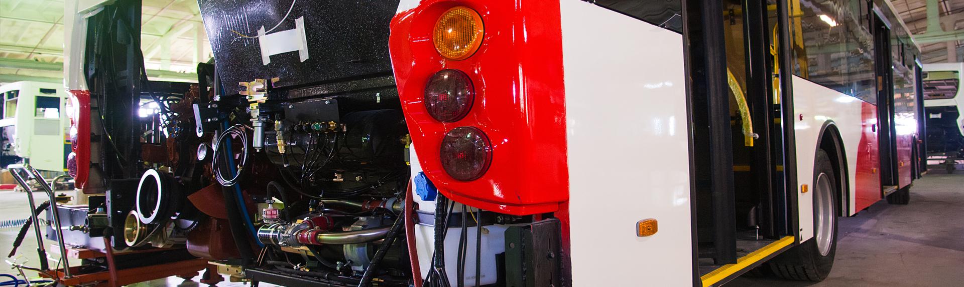Кузовной ремонт автобусов