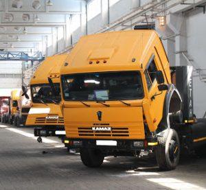 Ремонт грузовиков КамАЗ