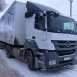 До ремонта кабины тягача Mercedes-Benz