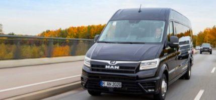 MAN запускает новый туристический микроавтобус на базе TGE