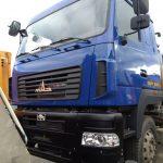 Кузовной ремонт МАЗ после ремонта