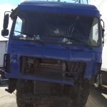 Кузовной ремонт МАЗ до ремонта