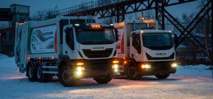 IVECO и «TK Лифт» представили новые мусоровозы Mazzocchia для России