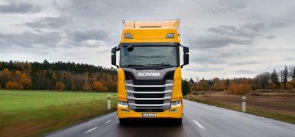 Тягач Scania 540 S признан лучшим крупнейшими европейскими изданиями!