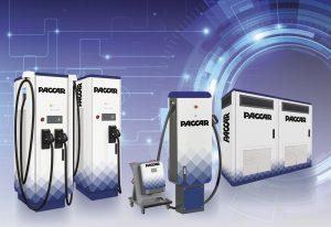 DAF представляет зарядные станции для электроприводных автомобилей