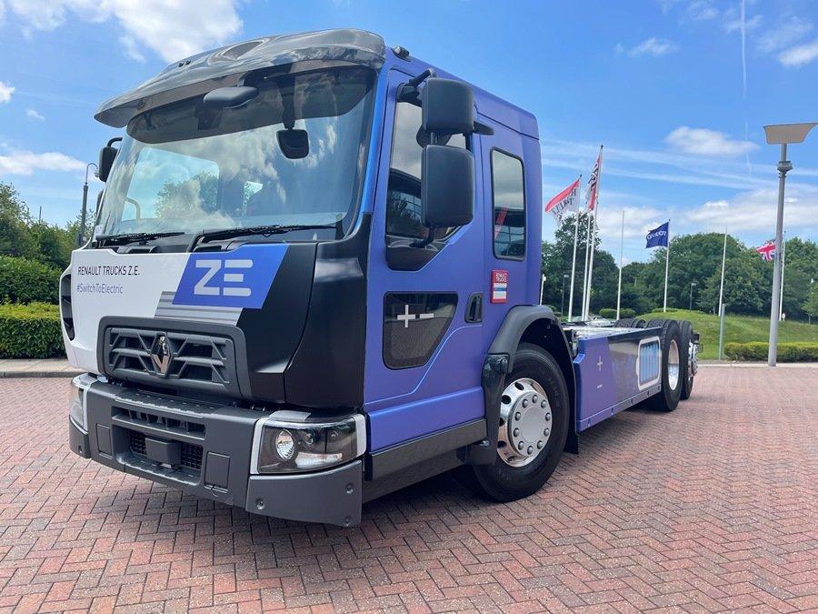 Электрические грузовики Renault пополнила новая модель D Wide Z. E. Low Entry Cab